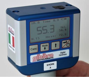 Máy đo độ cứng cao su hiển thị số